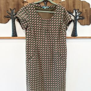 Boden 14L Pocketed 60s 70s style Corduroy dress